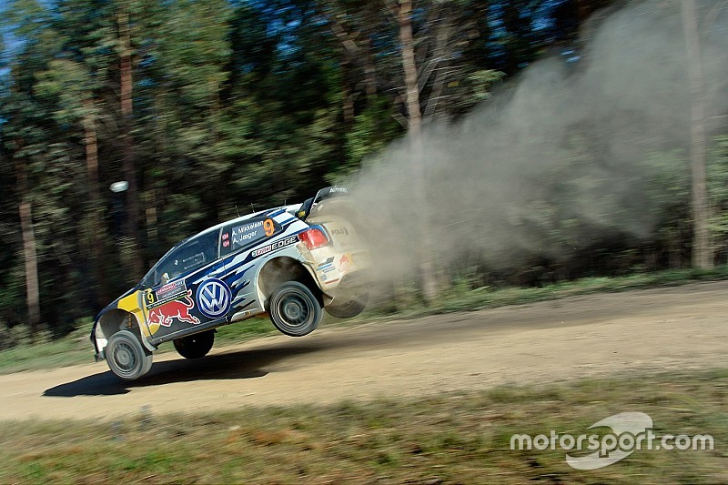 Australia WRC: Mikkelsen leads into Friday evening