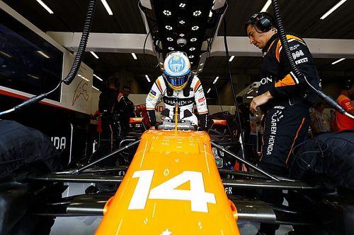 Honda vond geen probleem in de motor van Alonso
