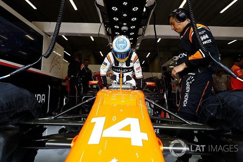 Honda found no problem with Alonso's engine