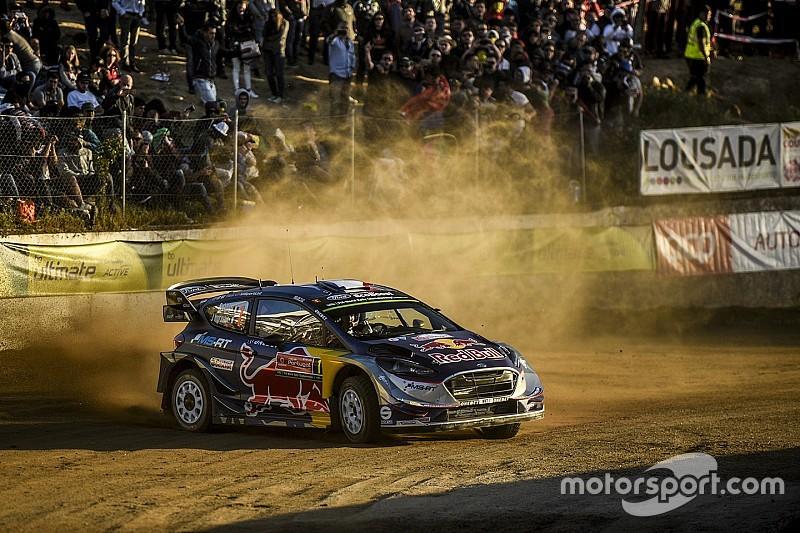 Portugal WRC: Ogier inherits lead after Tanak mistake