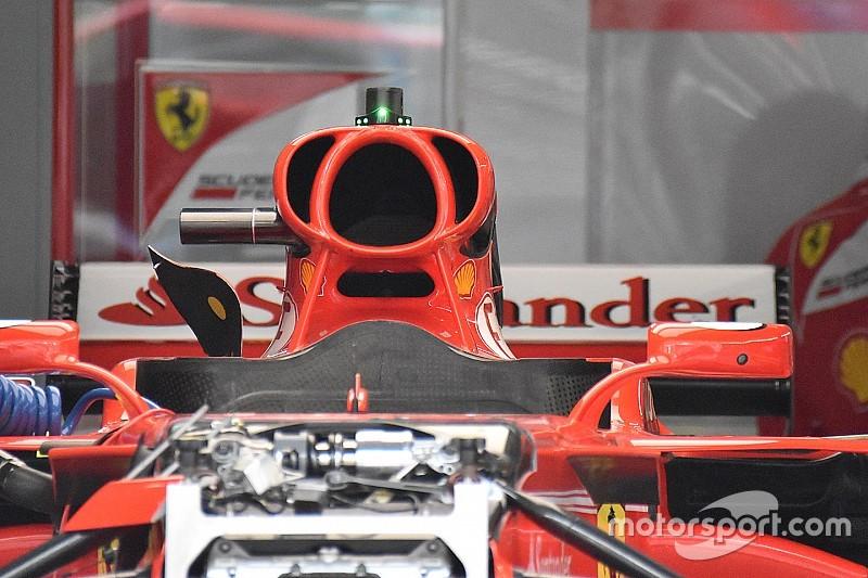 Galería: las mejoras técnicas de los equipos de F1 en Malasia