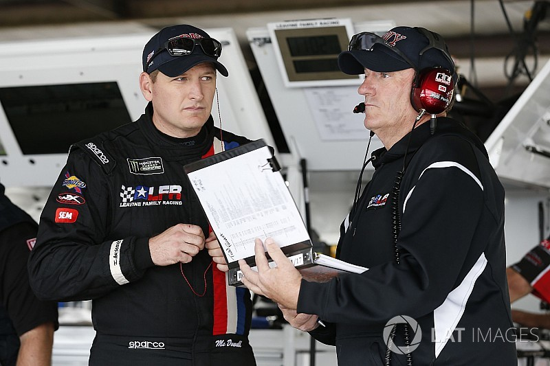 Todd Parrott relieved of crew chief duties at Leavine Family Racing