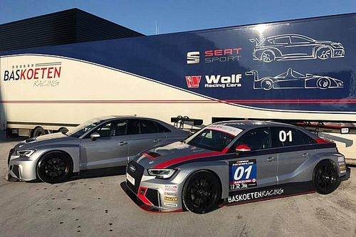 Ecco le due Audi RS 3 LMS TCR della Bas Koeten Racing