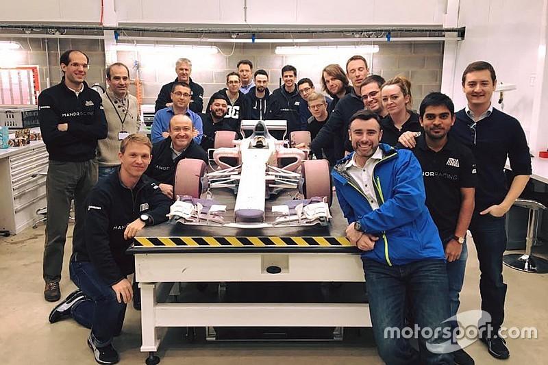 Manor staff reveal 2017 F1 car design
