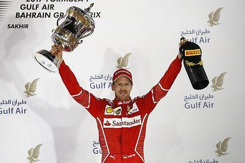 Bahrein tem disputas, batida e nova vitória de Vettel; veja