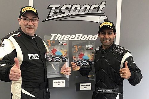Donington LMP3 Cup: Podium for Chandhok in Race 1