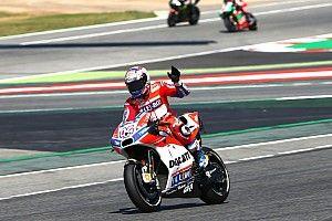 【MotoGP】カタルニア決勝:ドヴィツィオーゾ連勝。ホンダは2-3位