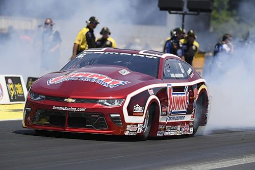 Kalitta, Hagan, Anderson and M. Smith preliminary leaders after Friday at Norwalk