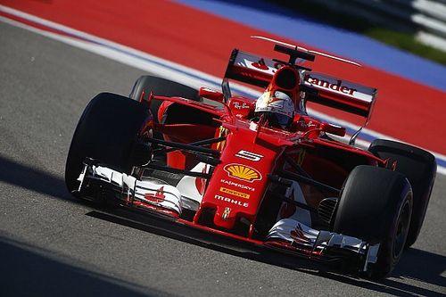 Fotogallery: la Ferrari domina le qualifiche del GP di Russia di F.1