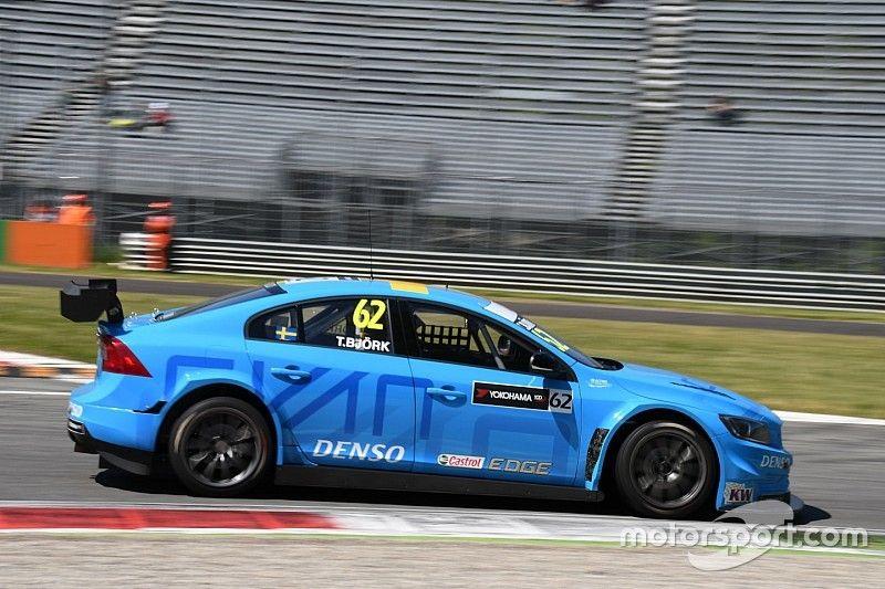 A Monza arriva la prima pole position della Volvo con Björk