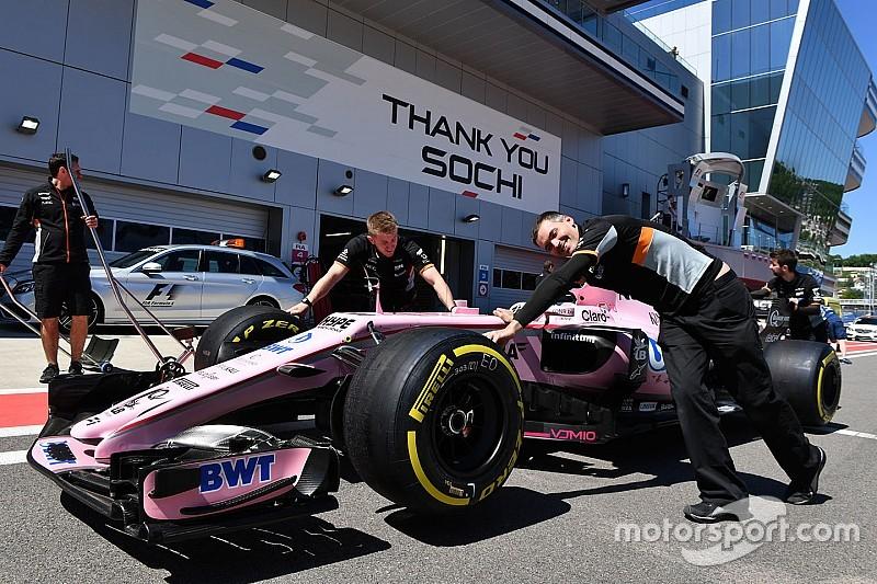 Force India confía en mejorar después de sus actualizaciones