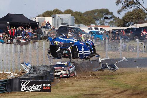 Hazelwood reflects on 260 km/h Sandown crash
