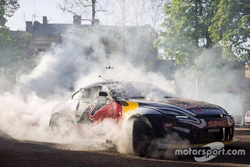 Гринчук розбив машину на фіналі RTR Drift Attack