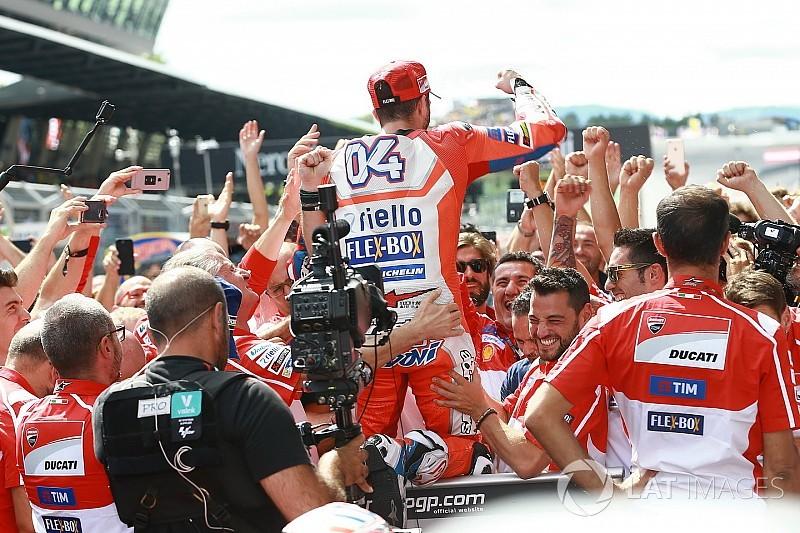 """Domenicali: """"Dovi e Ducati, tutti i Ducatisti sono orgogliosi di voi!"""""""