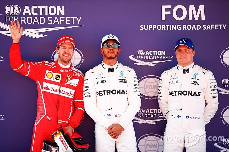 F1 2017 in Barcelona: 64. Pole-Position für Lewis Hamilton