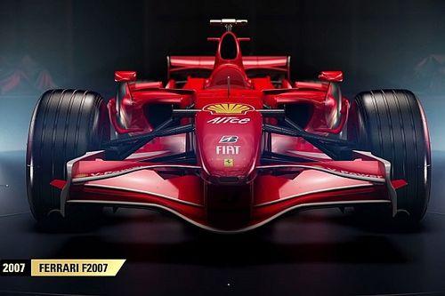 Négy retro Ferrari is lesz az F1 2017 játékban: Räikkönen?