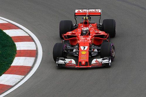 Canadian GP: Raikkonen leads FP2 as Red Bulls hit trouble