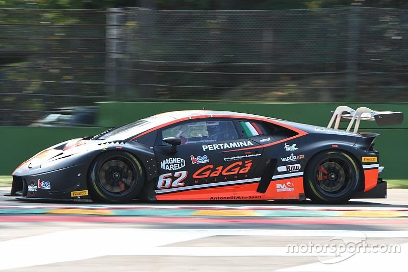 Kikko Galbiati torna sulla Lamborghini Huracan GT3 al Mugello