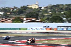 Márquez, el más rápido en el tercer libre de Misano; Viñales a una décima