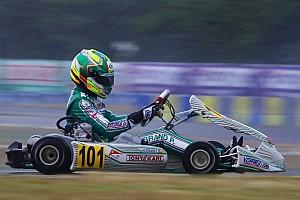 Kart Reporte de la carrera Finlandia: Victoria de Taoufik, Hiltbrand tercero