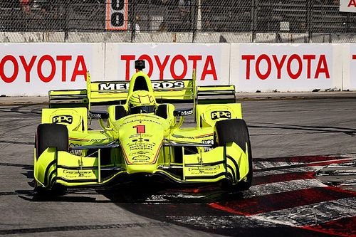 Long Beach IndyCar: Pagenaud tops warm-up