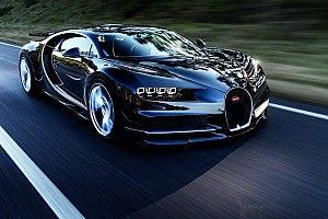 Montoya 400km/s dünya rekorunu Bugatti Chiron ile kırdı