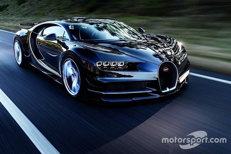 Bugatti Chiron - Moins d'une minute pour le 0-400-0km/h!