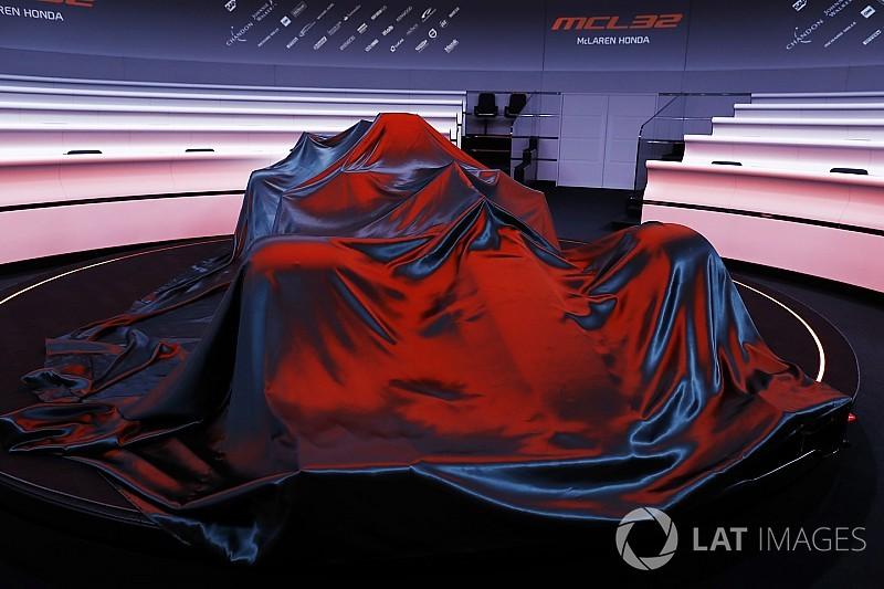 McLaren e Toro Rosso anunciam data de lançamento de carros