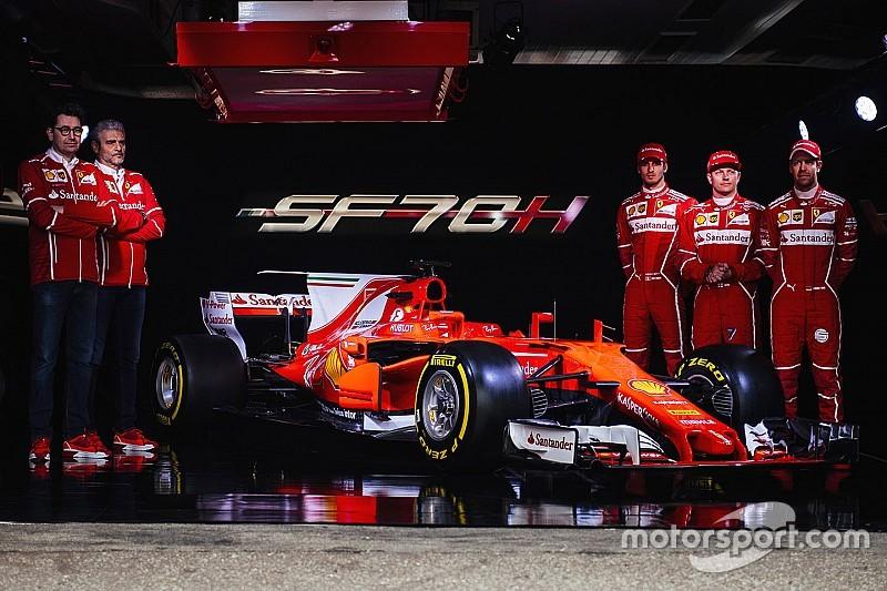 Ferrari lance un concours en marge de la présentation de sa F1