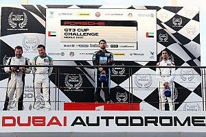 بورشه جي تي 3 الشرق الأوسط: كولين يحرز الفوز بالسباق الأول على أرض حلبة دبي أوتودروم