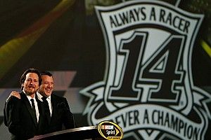 """Tony Stewart """"honored"""" by surprise guest at NASCAR Awards"""