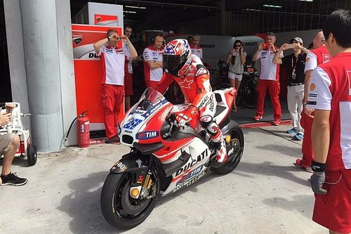 Стоунер протестировал Ducati