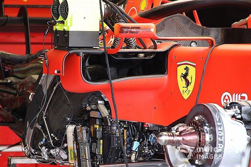 Mercedes: la W11 copia le bocche alte della Ferrari?