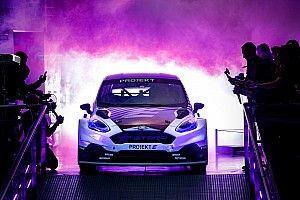 All-electric Projekt E rallycross car unveiled
