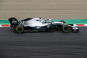 Japanese GP: Bottas leads Mercedes 1-2 in FP1