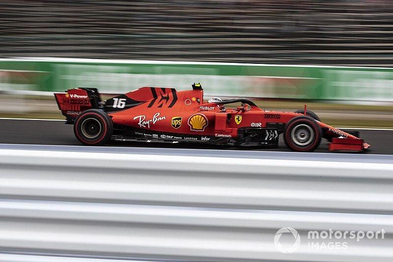 Leclerc, sorprendido con el déficit de Ferrari en Japón