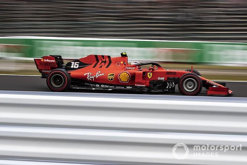 """Ferrari's Suzuka deficit a """"surprise"""", Leclerc admits"""