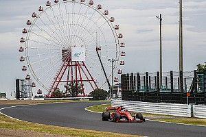 日本大奖赛发车顺序或按FP2结果决定