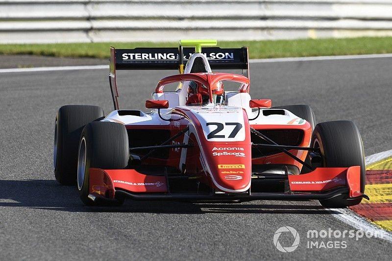 Giorgio Carrara 18° en Spa y Daruvala en la pole en F3