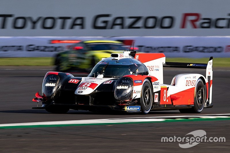 Silverstone WEC: Toyota heads Rebellion in FP3