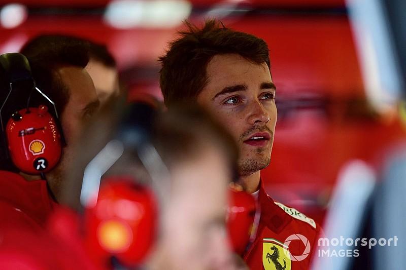 """Leclerc: """"Ho fatto capire a Max che la pista non è solo sua"""""""