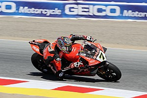 Laguna Seca WSBK: Davies beats Rea in Race 2, Bautista retires