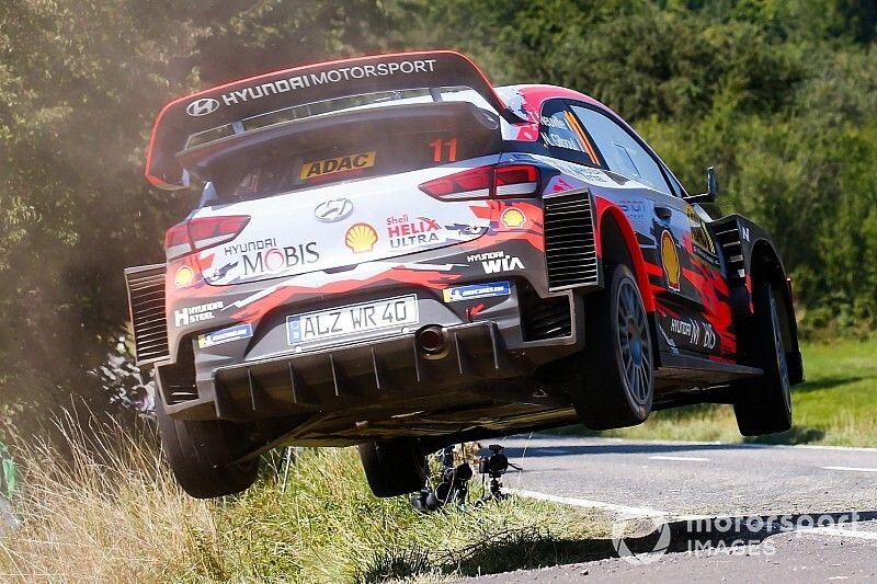 WRC, Hyundai 2020: il nuovo scarico fa soffiare il diffusore?