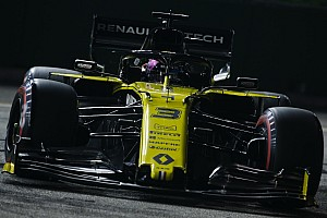 Ricciardo excluded from Singapore qualifying results
