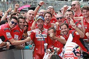今季2勝目のドヴィツィオーゾ、逆転タイトルに向け「この勝利が活力になれば」