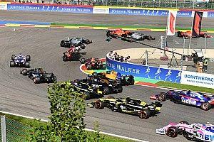 Положение в общем зачете после Гран При Бельгии