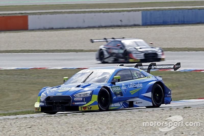 """Frijns scoort beste DTM-resultaat: """"Blij dat pech voorbij lijkt"""""""