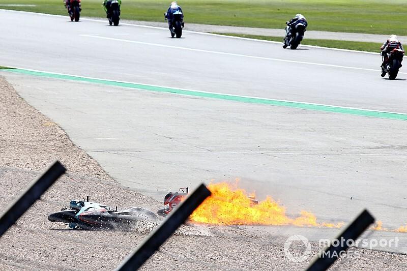 Fotos: las caídas de la temporada 2019 de MotoGP
