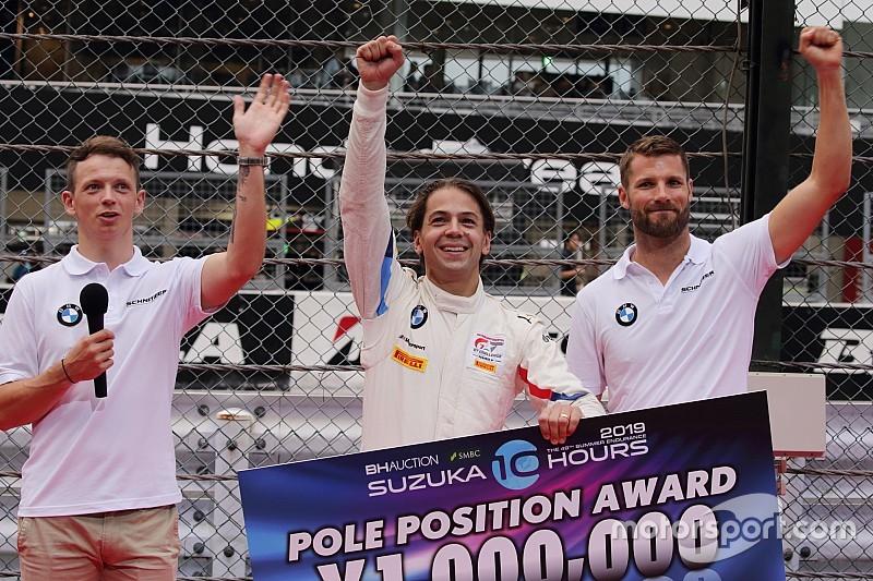 鈴鹿10H ポールシュートアウト BMWチームシュニッツァーがPP奪取!