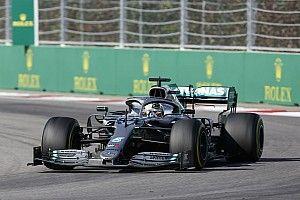 """Hamilton tuvo que hacer """"vueltas de clasificación"""" para seguir a los Ferrari"""
